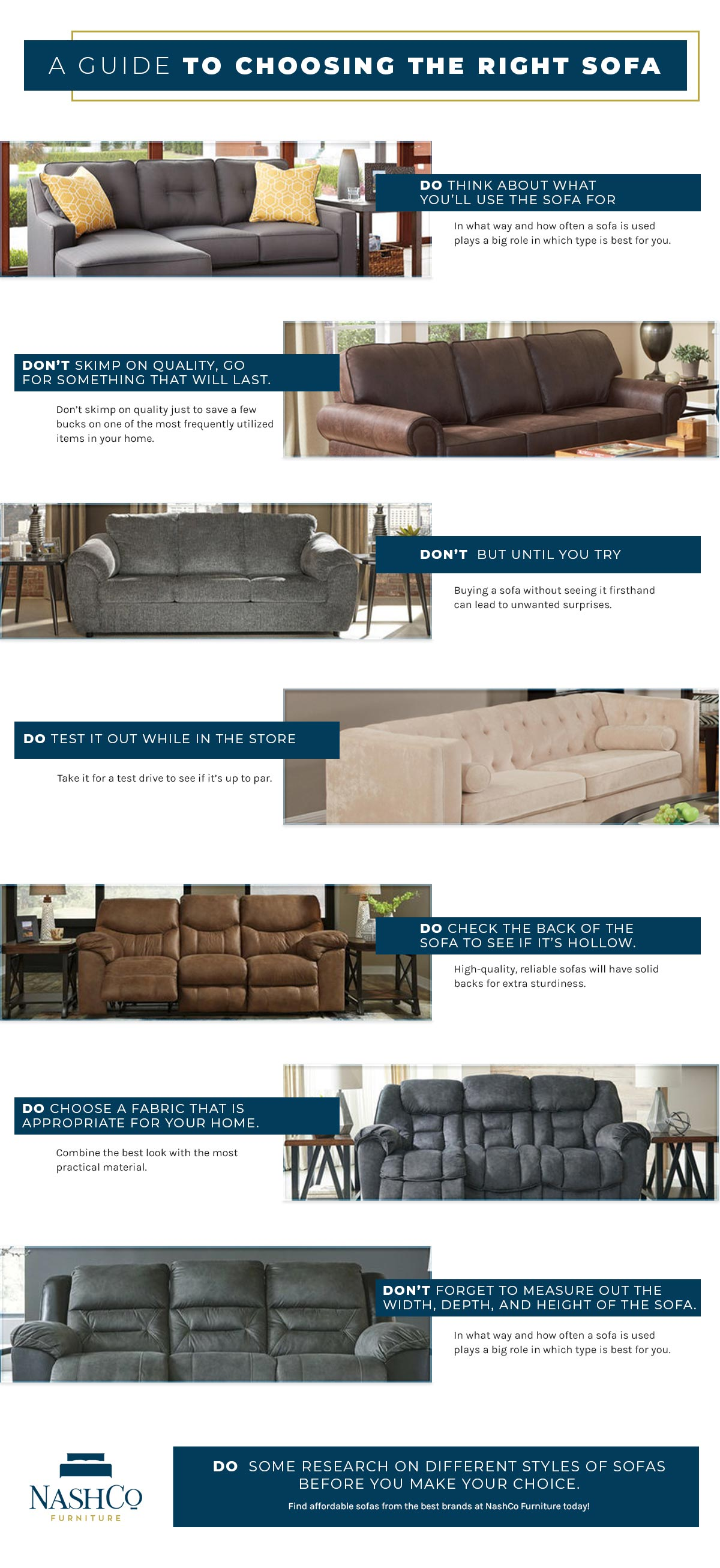 A Guide To Living Room Furniture: Choosing The Best Sofa ...