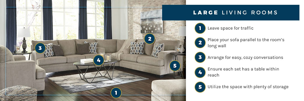 A Guide To Arranging Furniture And Maximizing Space Nashco Furniture Mattress Outlet